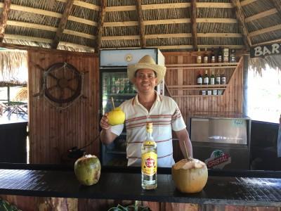 Baracoa-Rancho-Toa-Kokusnus-Cocktail-Heideker-Reisen