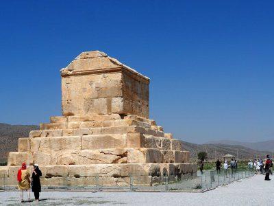 Grabmal Kyros II. in Pasargadae / Iran