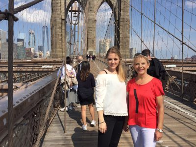 Ostersonntag auf der Brooklyn Bridge