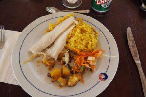 Kuba-Trinidad-Finca-Maria-Dorores-Hotel-Mittagessen-Fisch