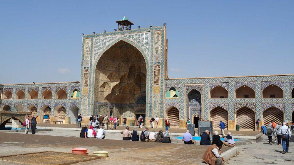 Freitagsmoschee in Isfahan/Iran