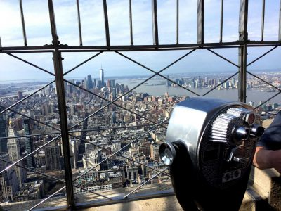 Empire State Bulding - Blick Richtung Finanzdistrikt